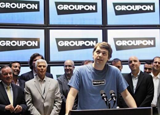 Groupon arriva a Wall Street