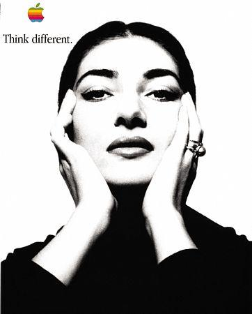 Maria Callas - Think Different