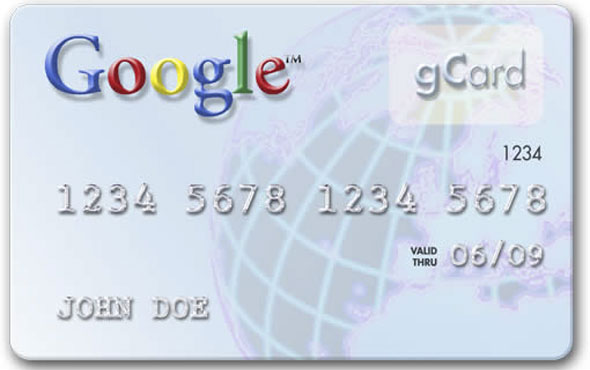 Un carta di credito per l'advertising su Google