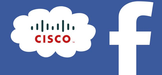 facebook e Cisco